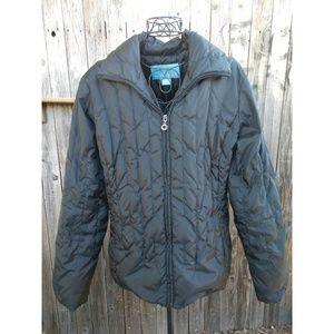 Black puffer jacket size L